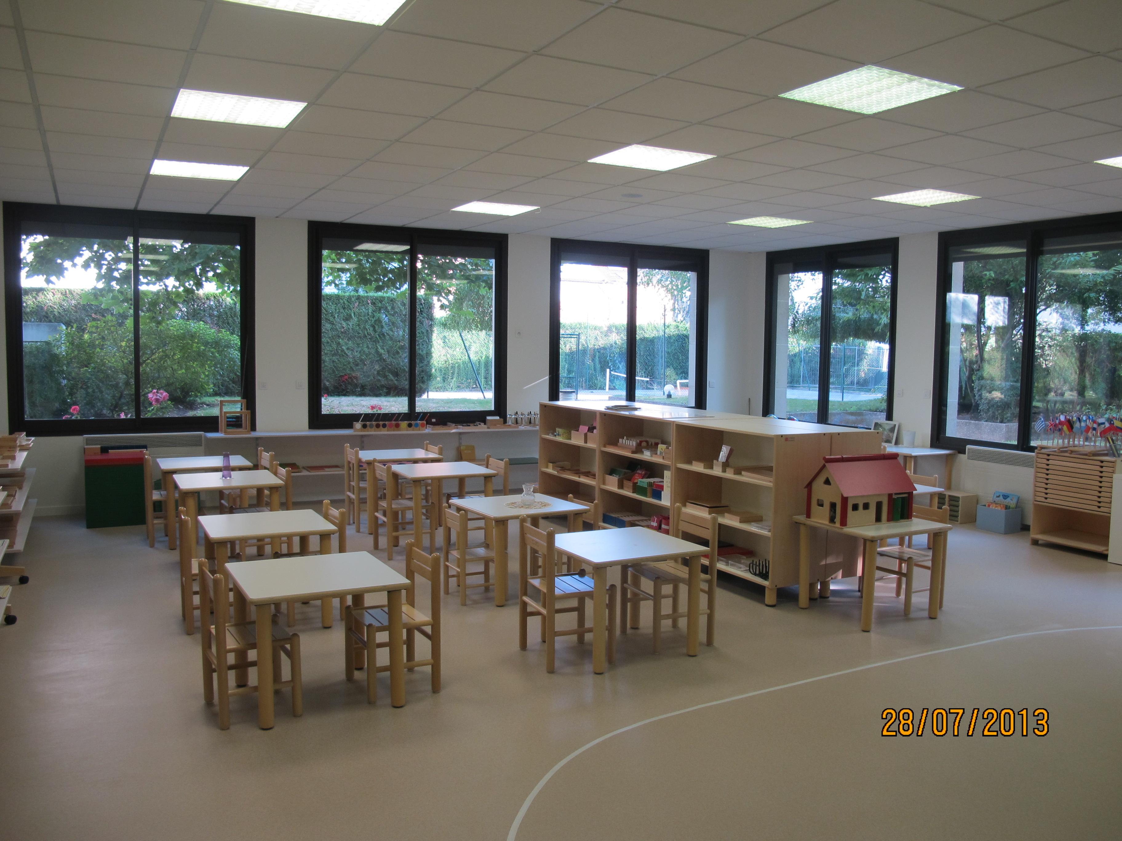 classe 3-6 ans ecole Montessori internationale Beautiful Minds