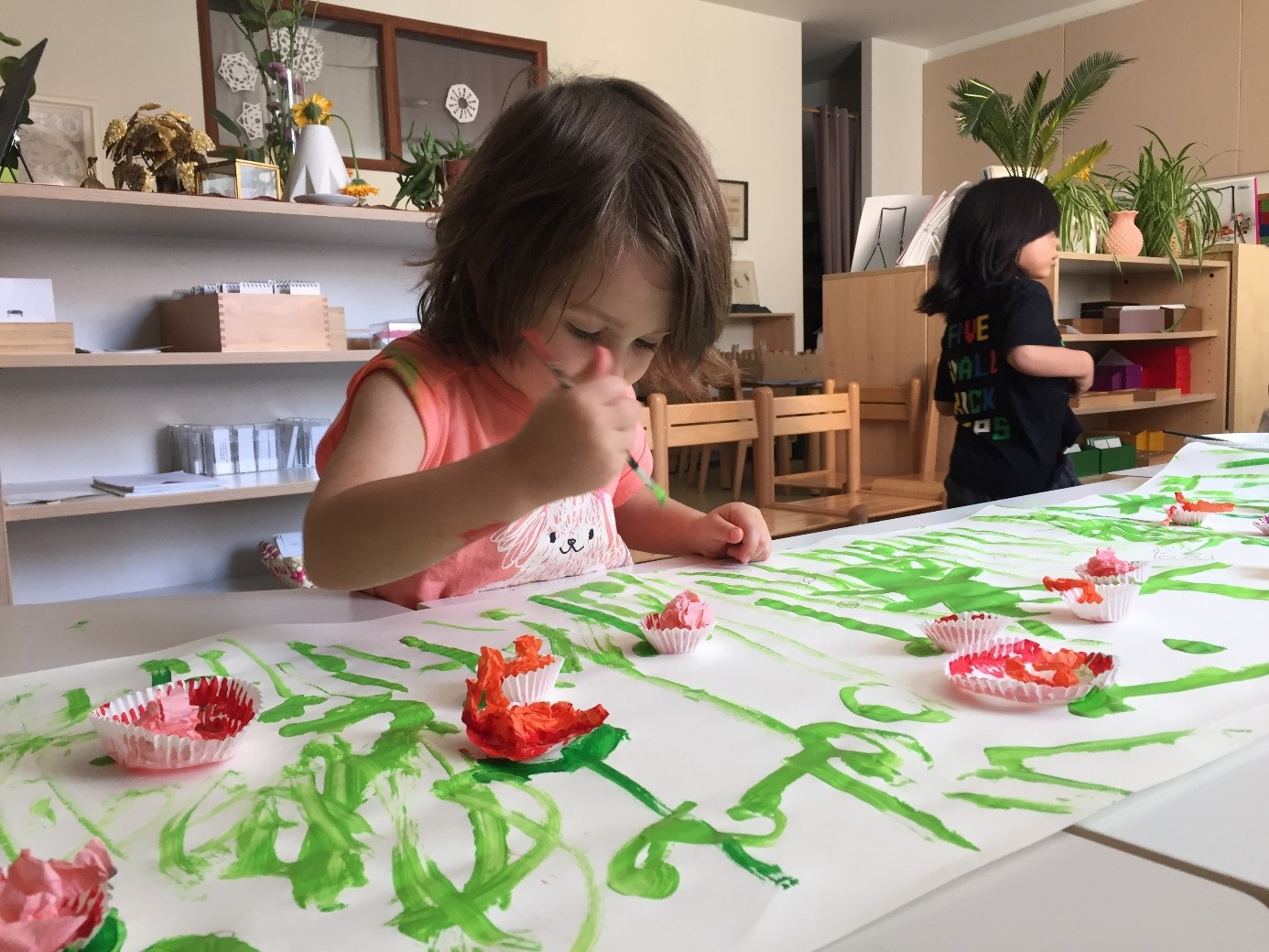 art activité montessori Beautiful Minds ecole bilingue montessori